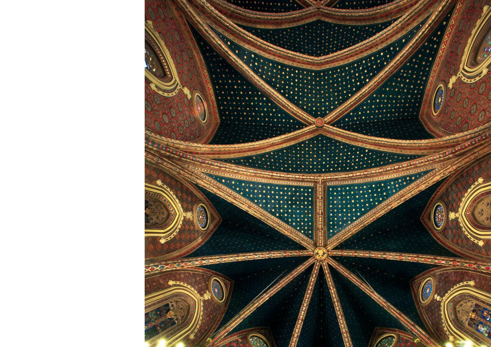 Teruel-San Pedro-detail plafond nef