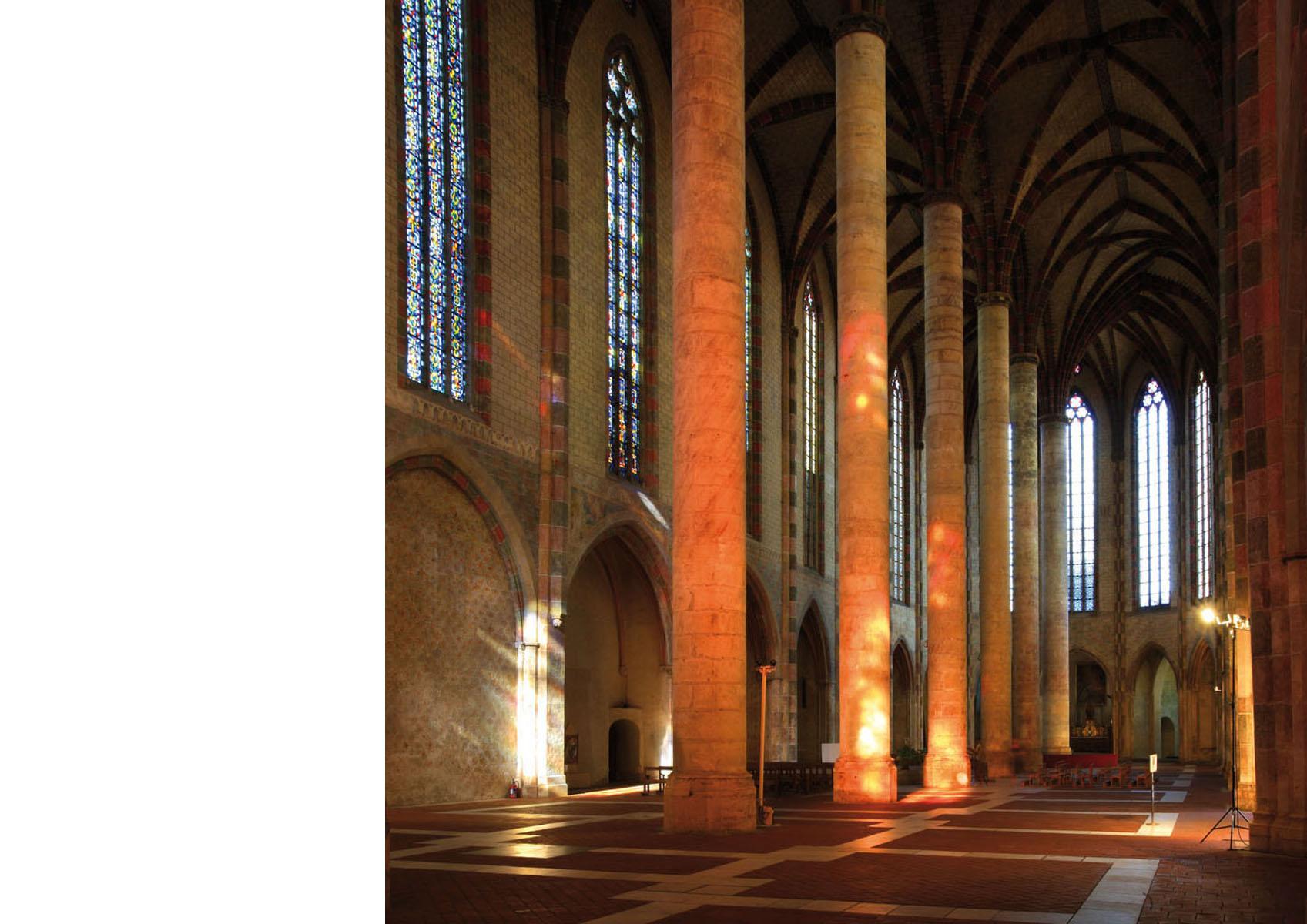 Toulouse-Les Jacobins-nef double 1