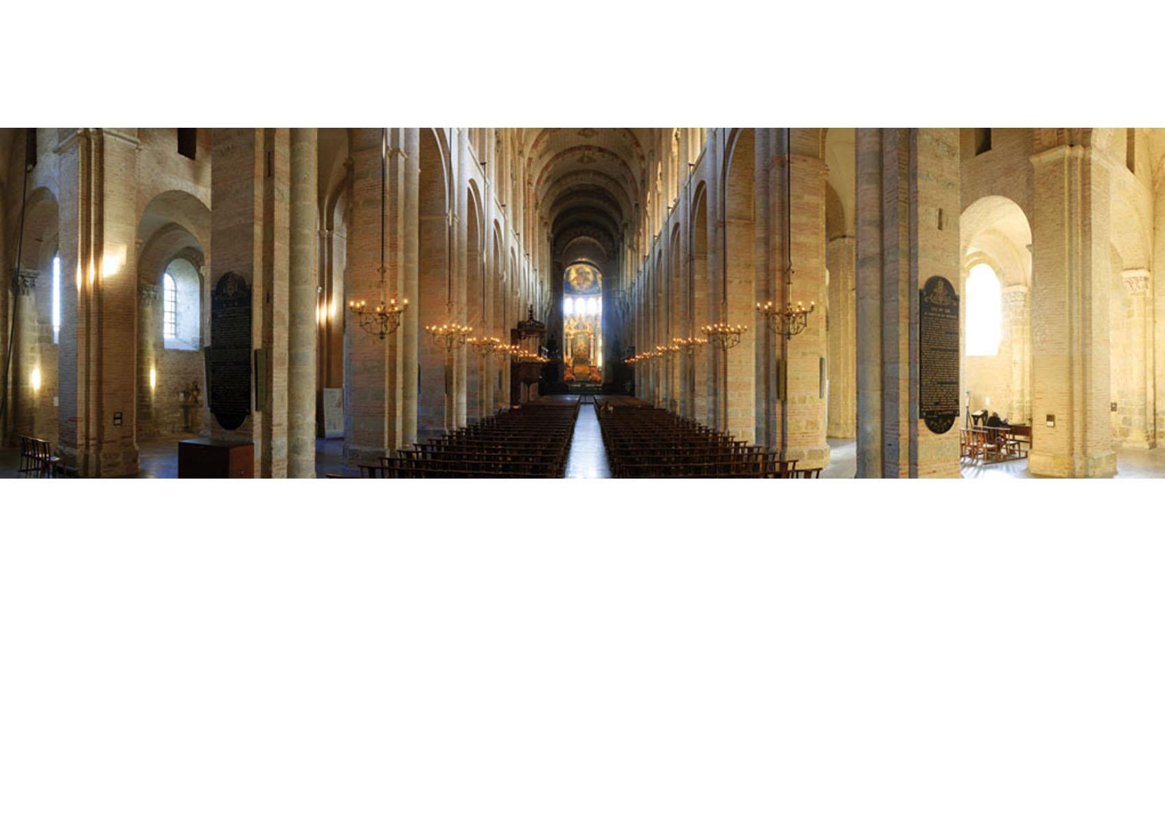 Toulouse-San Sernin-nef triple