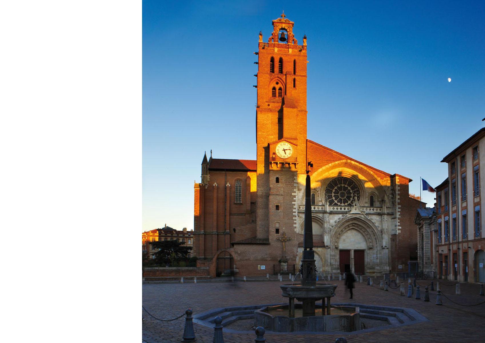 Toulouse-cathedrale Saint Etienne-tour 1