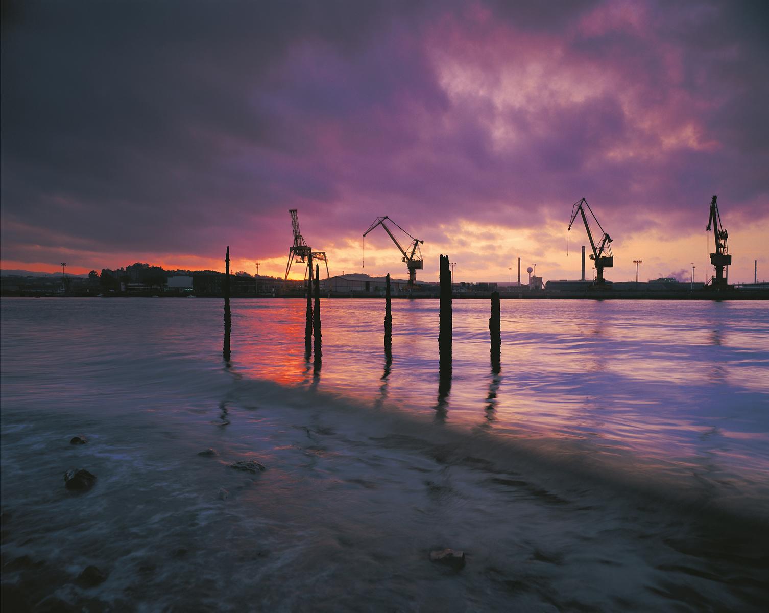 El puerto de Avilés