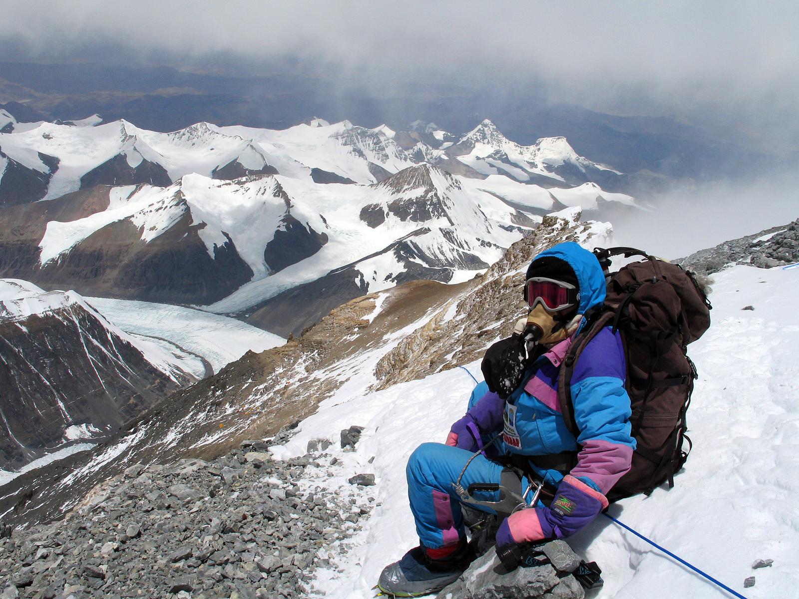 En la piel de la alpinista19