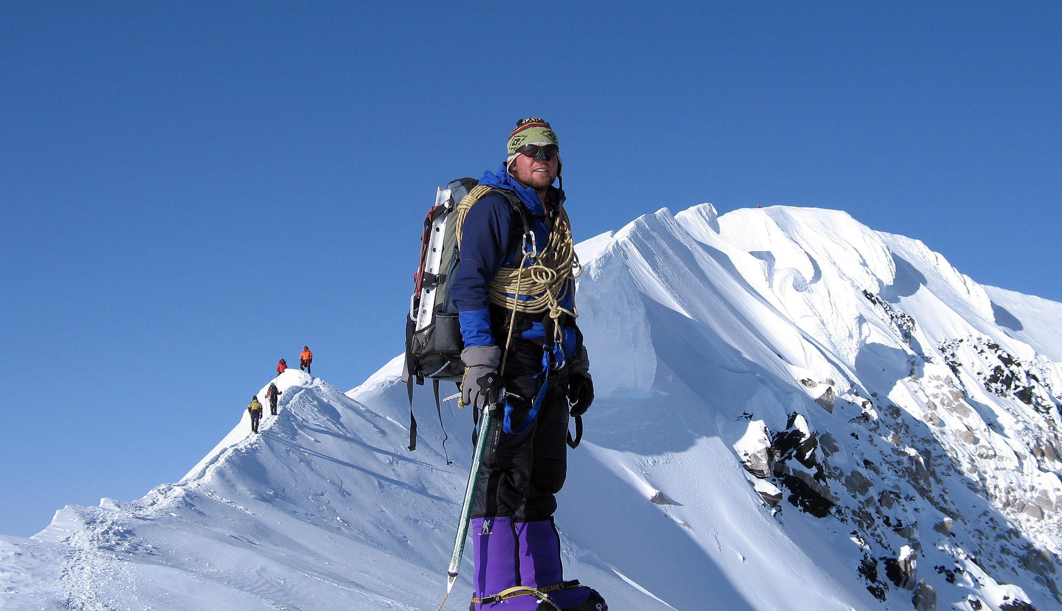 En la piel de la alpinista30
