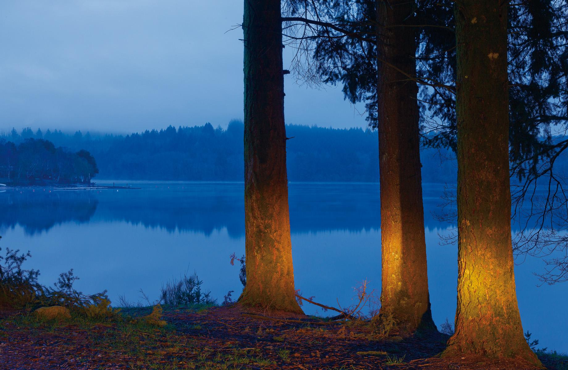 Lac de Vassiviere pres du barrage
